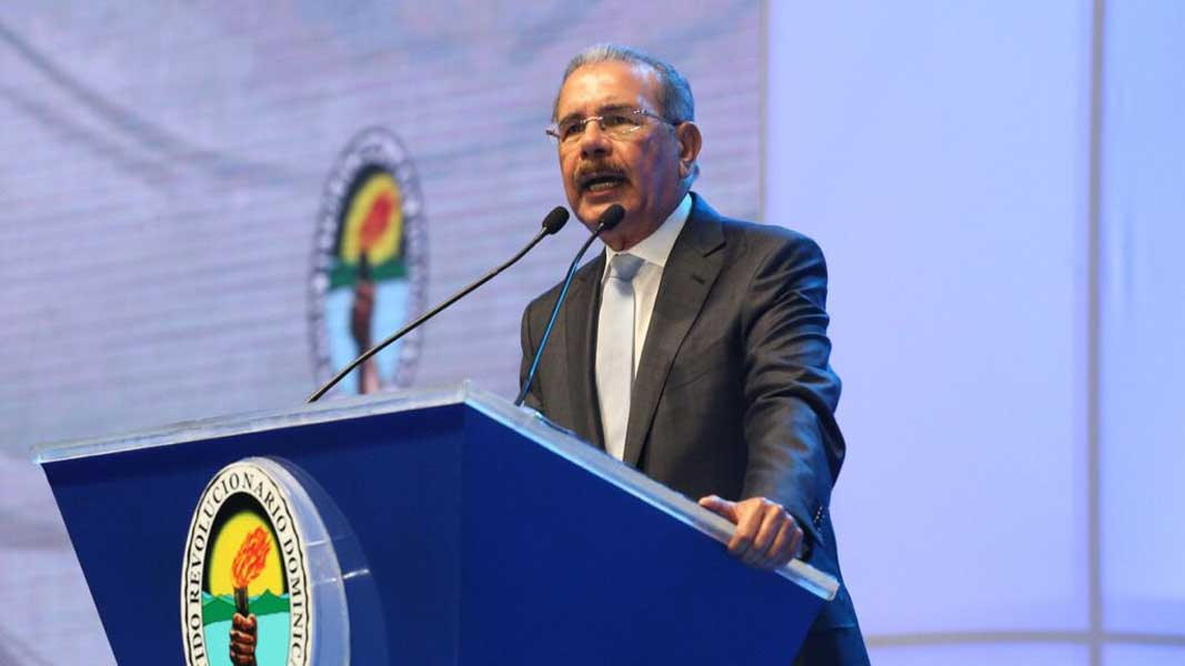 PRD proclama como su candidato a Danilo Medina