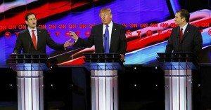 Marco Rubio y Ted Cruz acorralan a Trump