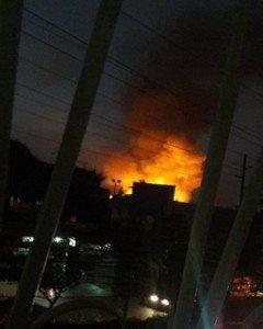 Explota estación de GLP en Los Rios