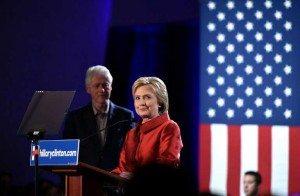 Reñida pero crucial victoria sobre el senador Bernie Sanders. Las primarias republicanas todavía no han terminado.