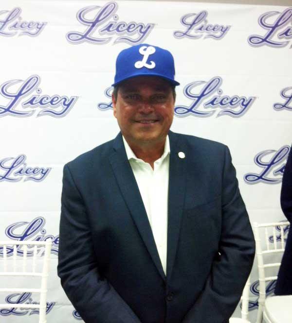 Licey presenta a Junior Noboa como gerente general