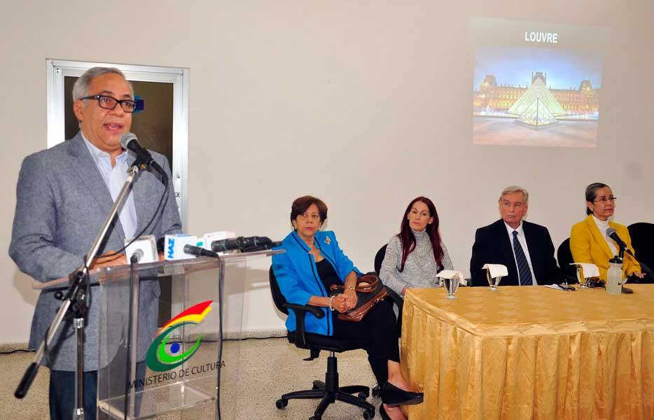Cultura explica proyecto Monumento Santiago