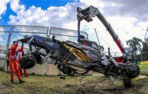 Fernando Alonso ileso en accidente