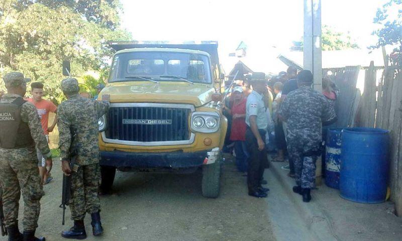 Conductor camión mata niña en Mao