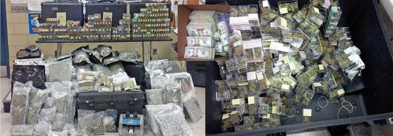 Dominicanos capturados con alijo marihuana