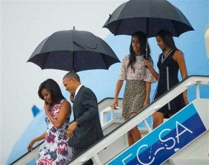 Barack Obama llega a Cuba
