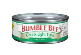 Alertan posible contaminación tunas Bumble Bee