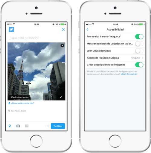 Twitter permite accesibilidad a discapacitados visuales