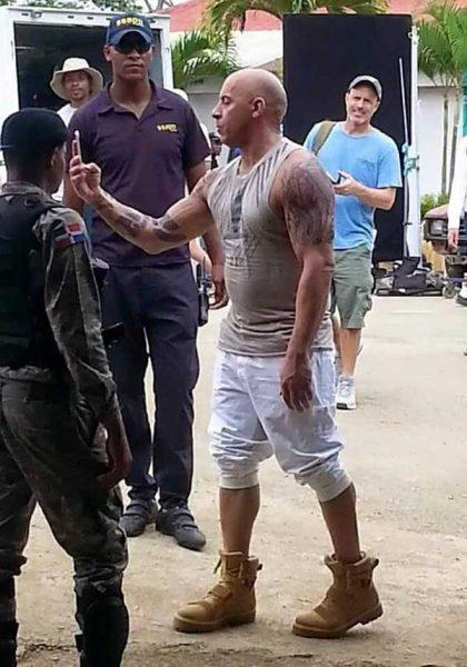 Vin Diesel genera sensación en rodaje película