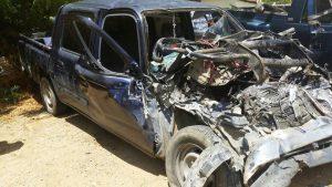 Padre e hijo mueren en accidente