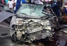 Un muerto accidente de tránsito en Playa Dorada, Puerto Plata