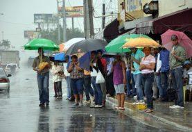 Siguen aguaceros por efecto dos vaguadas en en el país