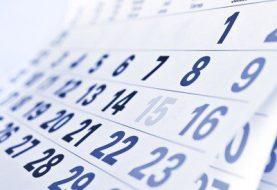 Ministerio de Trabajo informa feriados correspondientes año 2020