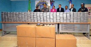 Haina: PN ocupa 320 paquetes de cocaína