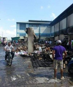 Mercado Dajabón opera con limitaciones