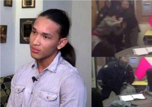 Estudiante dominicano demanda oficial NYPD