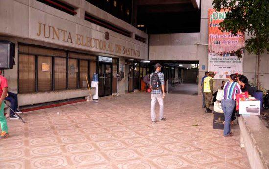 junta electoral de santiago