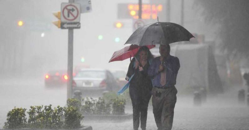 Onamet mantiene alerta en 16 provincias por lluvias