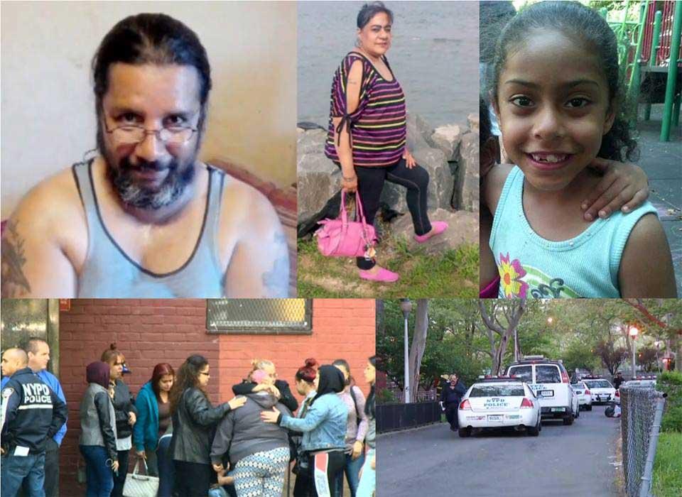 Bronx: Mata mujer, hiere nieta e intenta suicidarse
