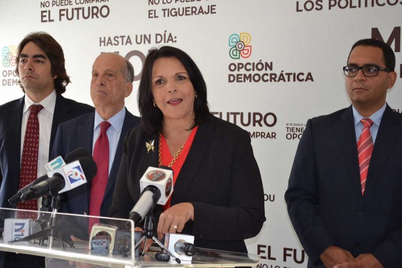 Minou acusa JCE de golpe de estado electoral