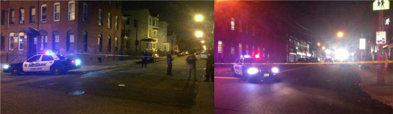 Cinco heridos balacera Newark