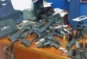 Incautan 13 armas de fuego en Esperanza