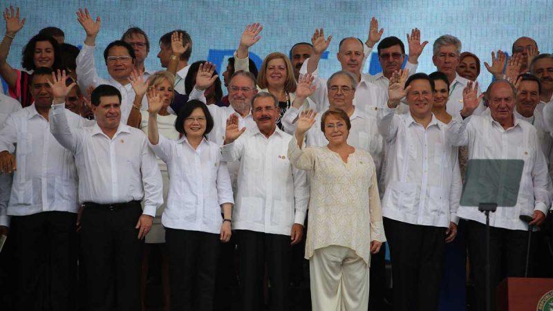 Danilo asiste a ceremonia Canal de Panamá Ampliado