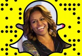 Michelle Obama ya está en Snapchat