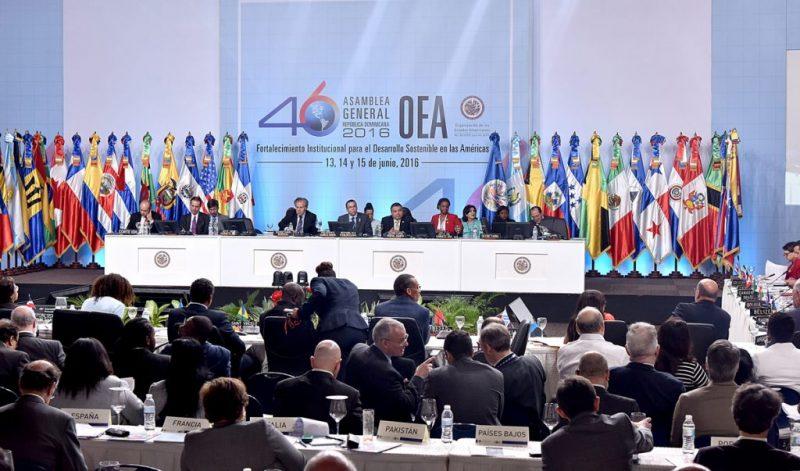 OEA aprueba declaración desagravio RD