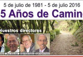 Semanario Camino celebra 35 años
