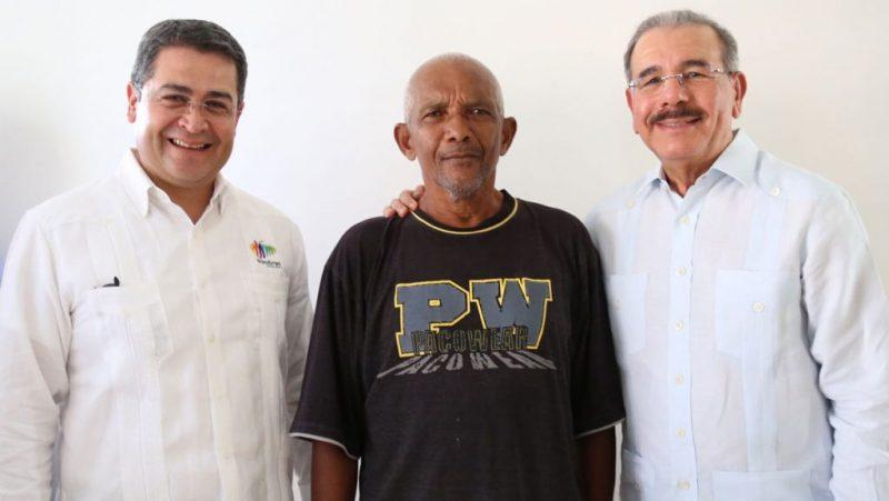Presidentes RD Honduras visitan La Nueva Barquita