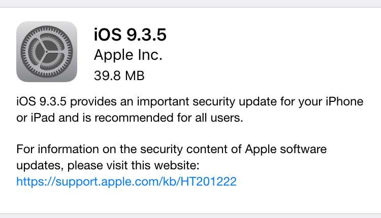 Apple se actualiza para neutralizar espionaje