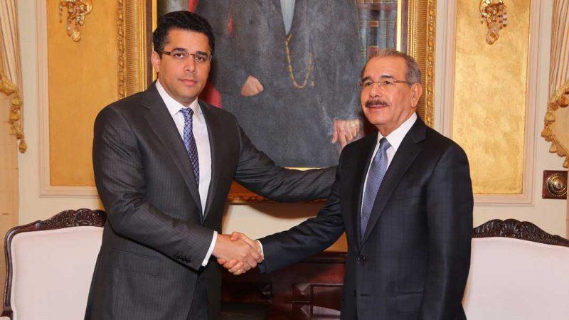 David Collado se reúne con Danilo Medina