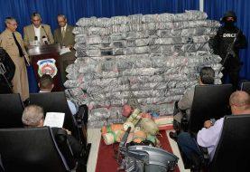 DNCD ocupa en SPM 492 paquetes de drogas