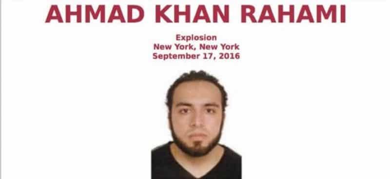 Identifican sospechoso bombas Manhattan