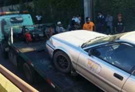 Santiago: Choferes y autoridades se enfrentan