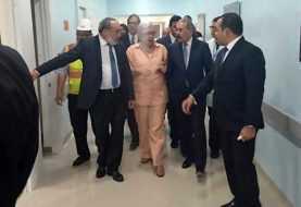 Danilo Medina supervisa reconstrucción hospital Cabral y Báez