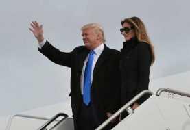 Donald Trump ya está en Washington