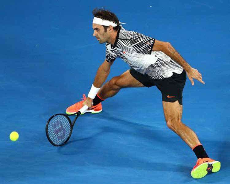 Federer y  Sock avanzan a semifinales master Londres