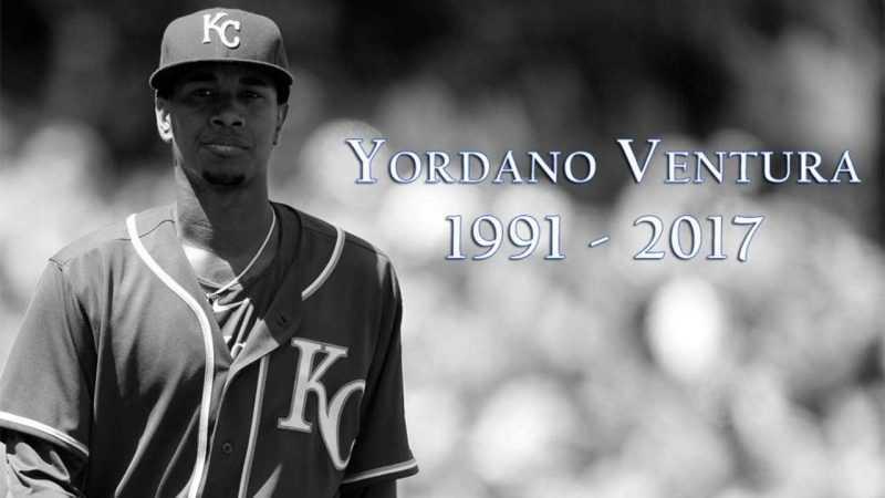 Reales de Kansas City de luto por muerte lanzador Yordano Ventura
