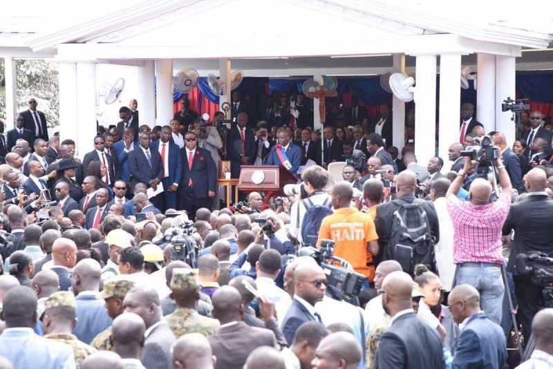 Danilo Medina asiste a toma de posesión de nuevo Presidente de Haití