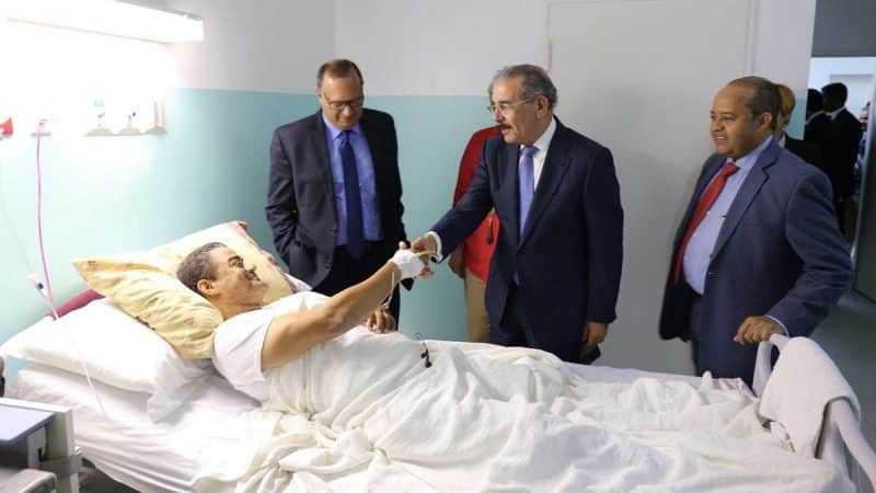 """Danilo en Hospital Nuestra Sra. de la Altagracia: """"Con o sin seguro, atiendan a pacientes"""""""