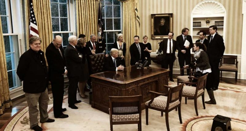 EEUU da marcha atrás a veto migratorio de Trump