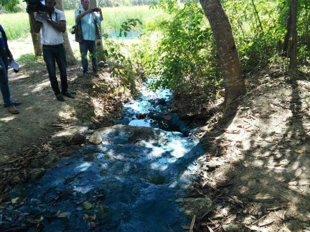 Medio Ambiente multa empresa por contaminación a la Laguna Mallén