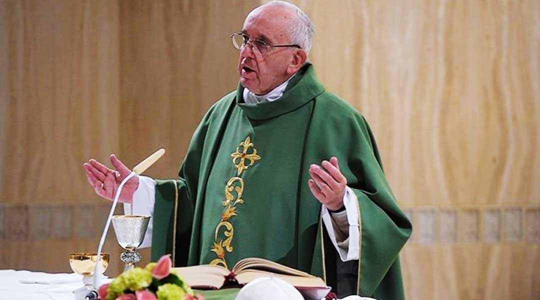Papa afirma falta dialogo es germen de guerra y violencia mundial
