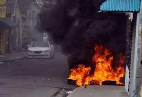 Carretilleros protestan alrededores hospedaje Yaque