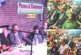 Defensora del Pueblo RD dicta magistral conferencia en NY