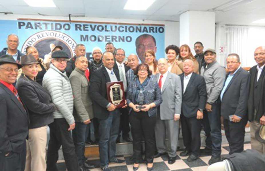 PRM Nueva York celebró su aniversario con llamado político