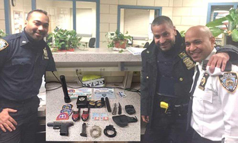 Arrestan en Alto Manhattan dominicano fingía ser oficial policial