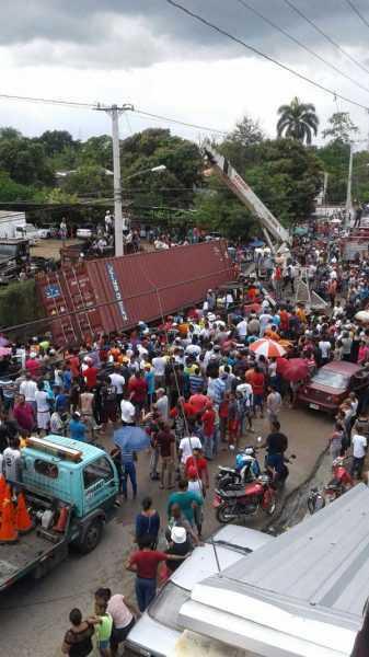 Un muerto y dos heridos accidente con furgón en Cienfuegos